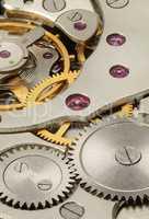 internal mechanism of mechanical watches