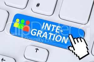 Integration Ausländer Flüchtlinge multikulturell Vielfalt Asyl