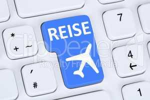 Reisen Reise Flug Flüge und Urlaub online buchen im Internet au