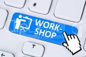 Workshop Schulung lernen Coaching Bildung online im Internet