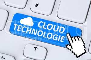 Cloud Computing Technologie Technology online digital im Interne