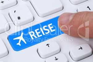Reisen Reise Flug Flüge und Urlaub online buchen im Internet