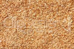 Fine sawdust as a texture