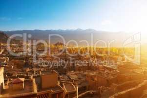 Leh city India