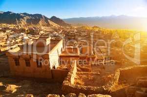 Leh city Ladakh India