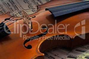 Rare old violin