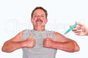 Symbol für allgemeine Vorsorge durch Impfung