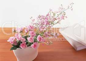 Lifestyle with Decorative Flowers