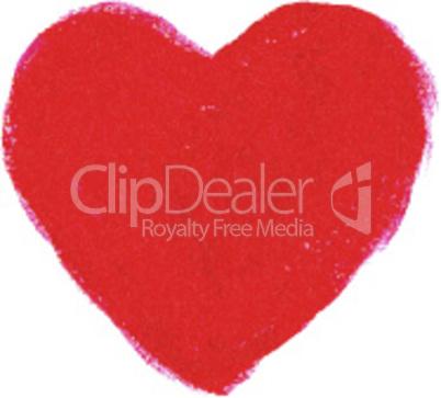 Red acrylic heart