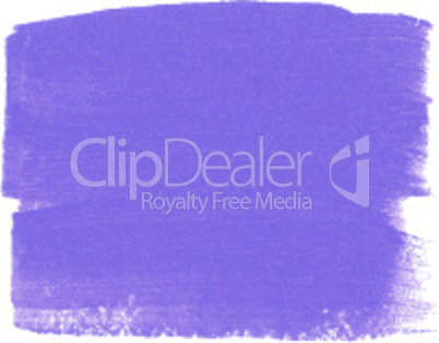 Lilac acrylic paint vector banner