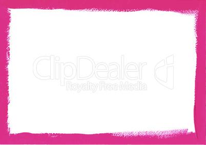 Pink grunge frame