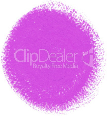 Pink acrylic paint vector circle