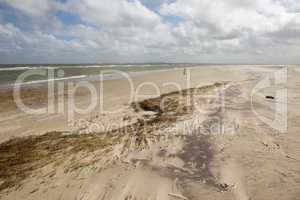 Eastern beach of Terschelling.