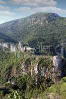 abandoned fortress landscape