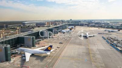 Frankfurt Flughafen A-Plus Zeitraffer