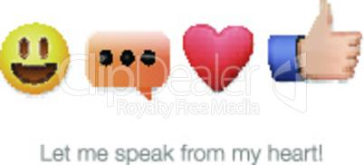 Emoticon set icons, emoji symbols, isolated on white background, vector illustration.
