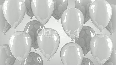 Gray Balloons