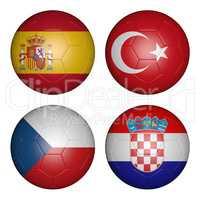 balls group d