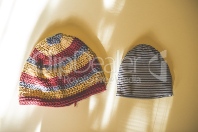 Big and small hats