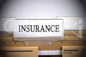 Insurance Folder Register Index