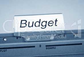 Budget Folder Register Index