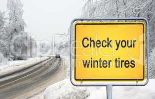 Check your winter tires