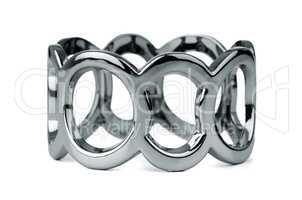 Silver bracelet