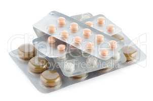 Packs of pills