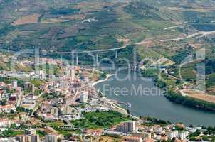 Regua, vineyars in Douro Valley