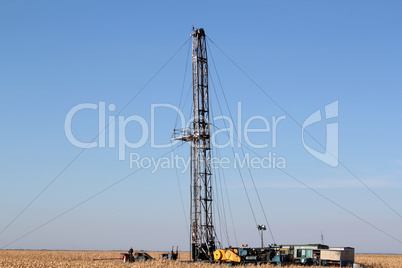 oil drilling rig heavy industry
