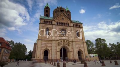 """Timelapse of beautiful cathedral in Speyer (""""Speyerer Dom"""")"""
