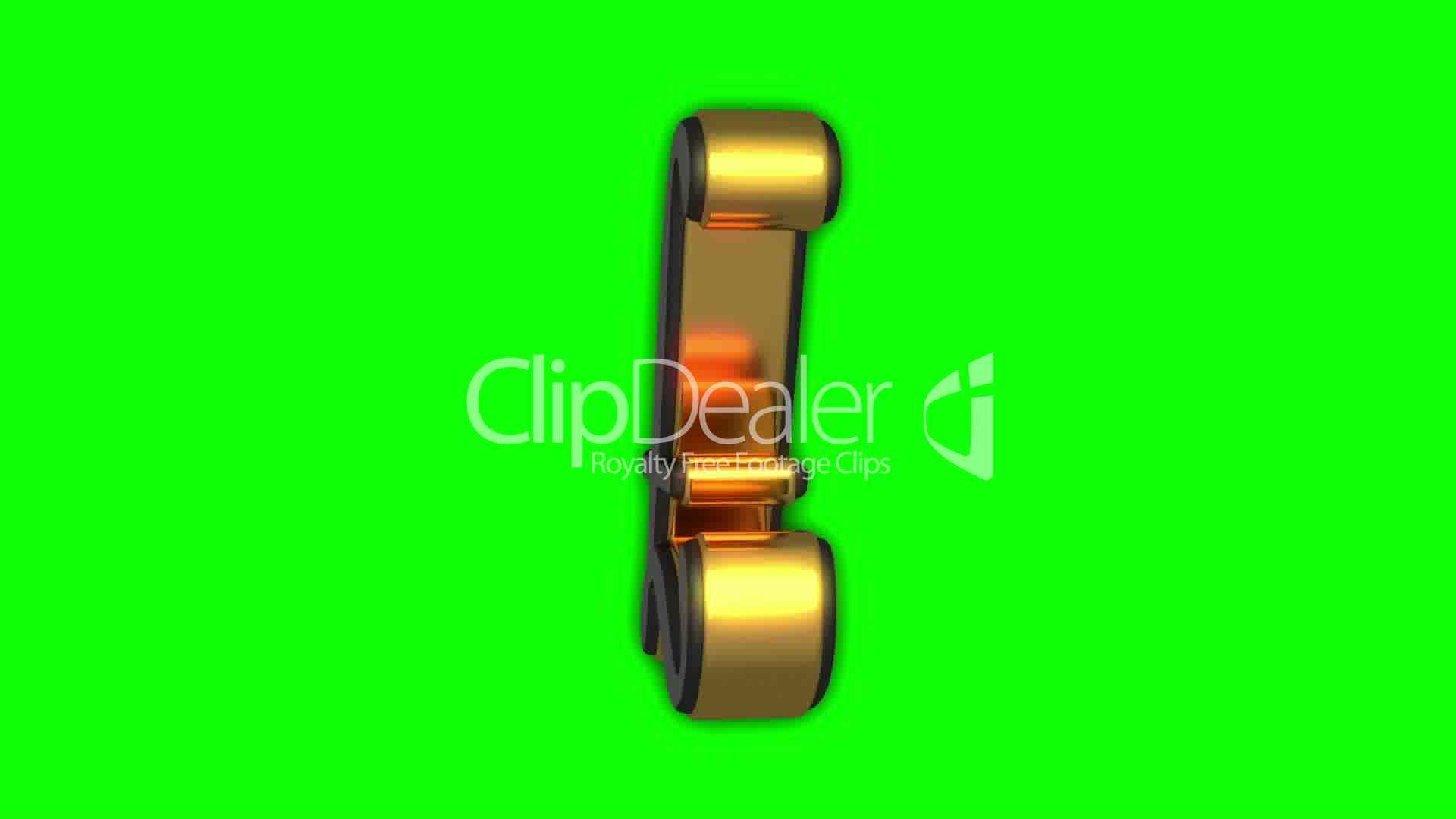 Great Britain Pound Symbol Seamless Loop Royalty Free Video And