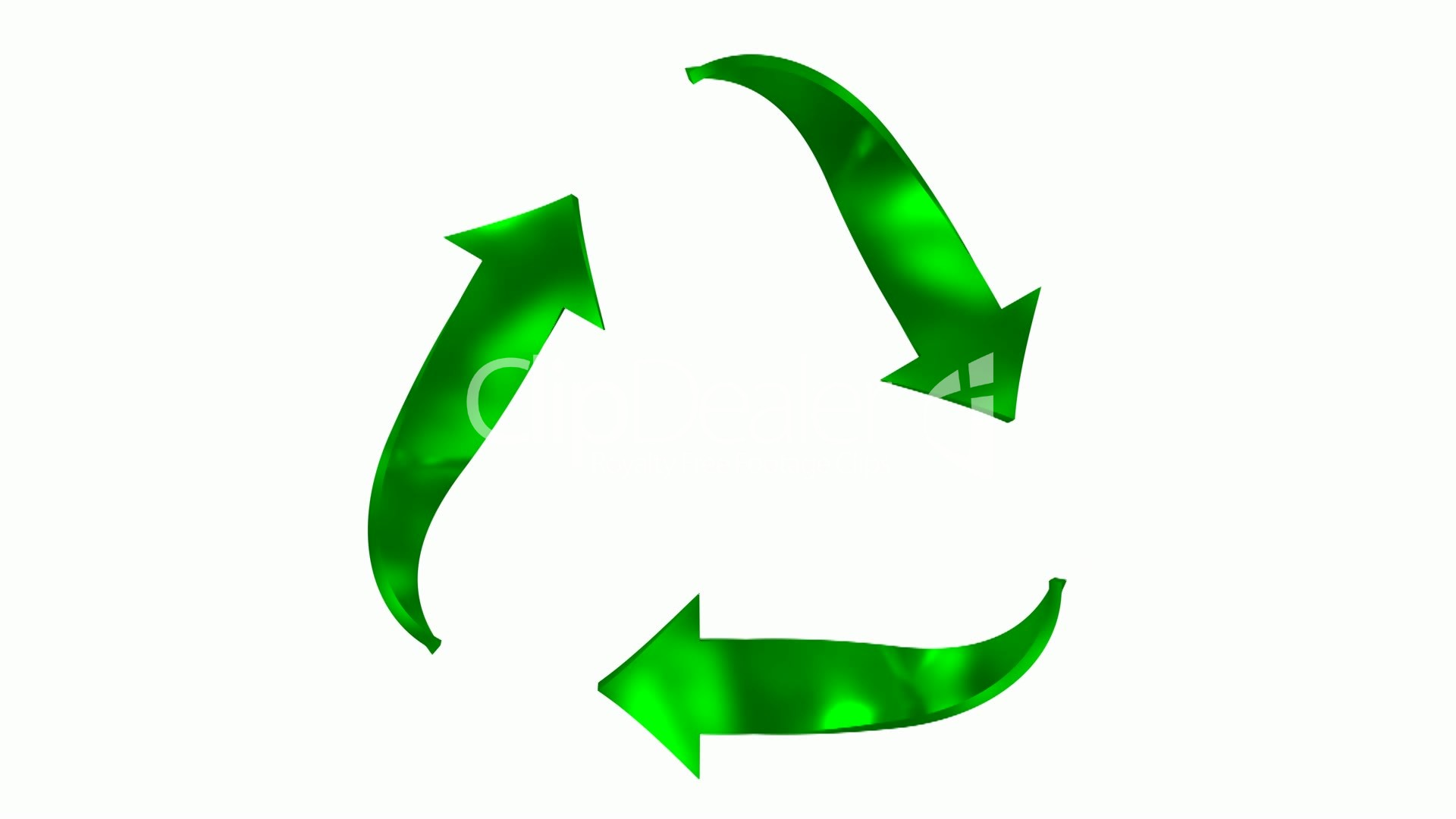 Animated Recycling Symbol Royalty Free Video And Stock Footage