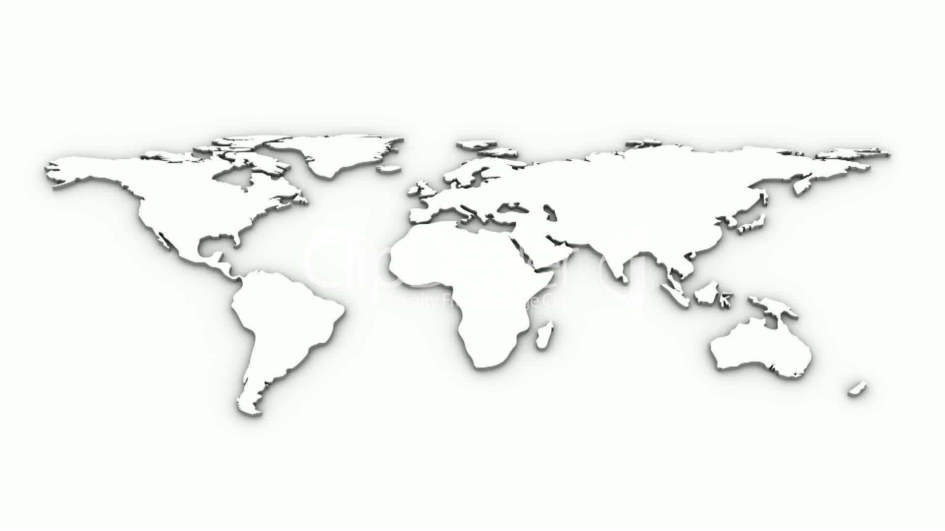 World map animation royalty free video and stock footage clips world map animation gumiabroncs Image collections