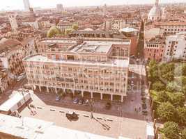 Retro looking Turin municipal building