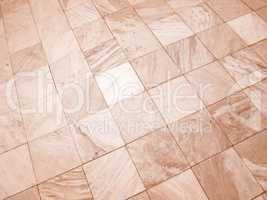 Retro looking Floor tiles