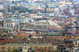 Roofs of Rome and the Pantheon's dome