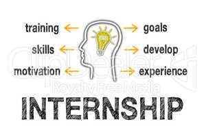 Internship Business Concept