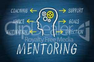 Mentoring Business Concept