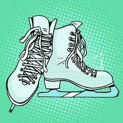 Skates winter sports