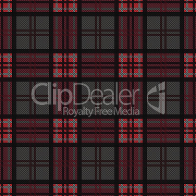 Rectangular seamless pattern in dark colors