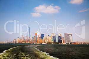 Manhattan downtown overview