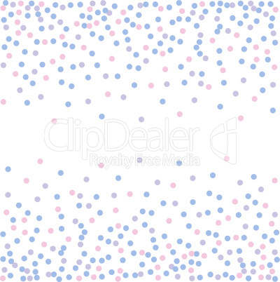 Rose quartz and serenity. Confetti backdrop. Engraving illustration.