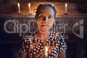 Myanmar old woman