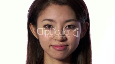 Good News Joy And Happiness For Happy Young Asian Woman
