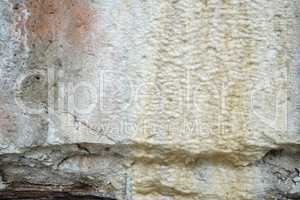 Limescale,white mineral deposit on the wall