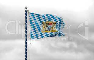 Bayerische Staatsflagge