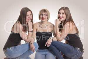 3 hübsche Freundinnen