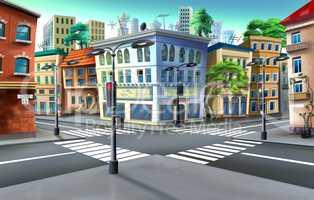 Urban crossroads