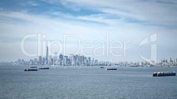 cargo ship at New York